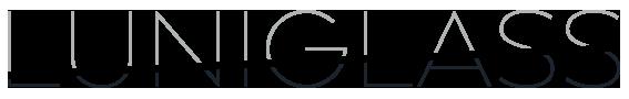 Luniglas logo, fabricacion vidrios arquitectura